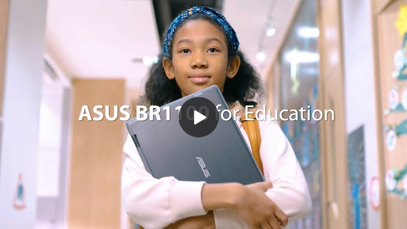 ASUS BR1100 - Strong, flippable power for learning